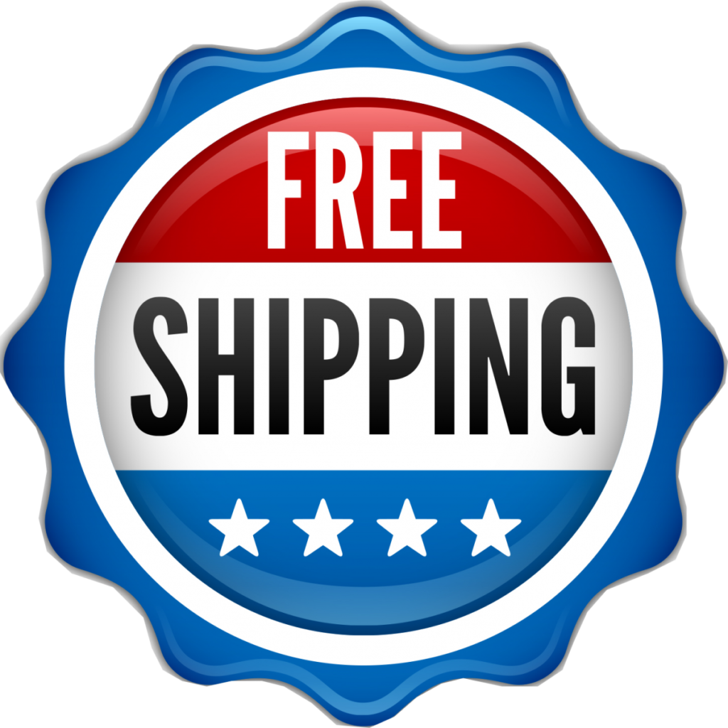 Free Shipping On All Orders Over $50
