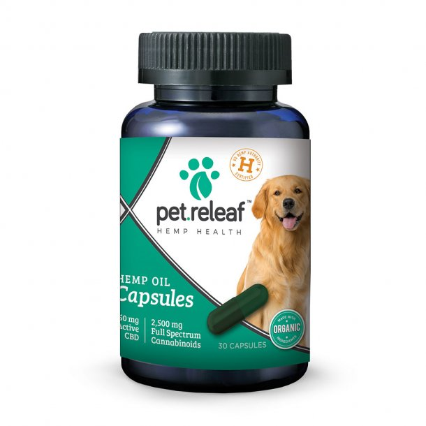 Pet Releaf Hemp Oil Capsules 450mg 30ct